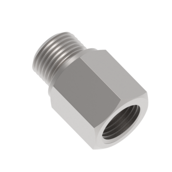 H-MFAB-6GN-S316 Adapter Female Npt To Male Iso Parallel