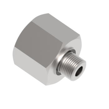 H-MFAE-8ED-20G-S316 Male Female Adapters Bsp With Ring