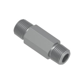 H-SNL-8N-L-46.7-STEL Hex Long Nipple