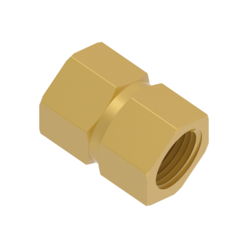 H-SSR12-4N-BRAS Hex Reducing Coupling