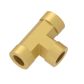 H-STA-4N-BRAS Pipe Fittings Tee