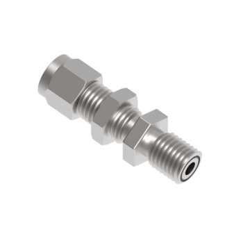 H-ZCOCBHC16-16-S316 Zco Bodies Tube Fitting Bulkhead Connector