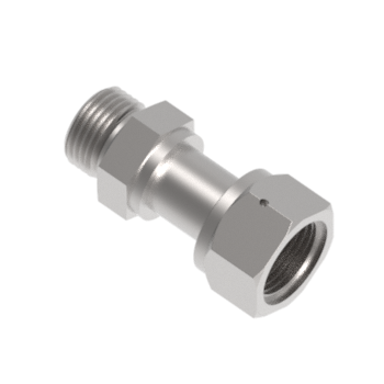 H-ZCOSSC8-8U-S316 Swivel Saems Connector