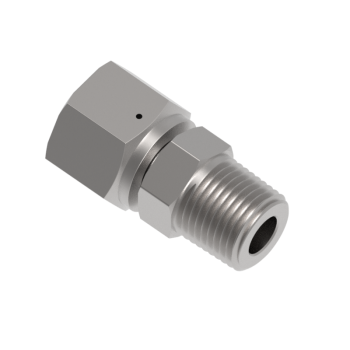 H-ZSMC8-6N Swivel Male Npt Connector
