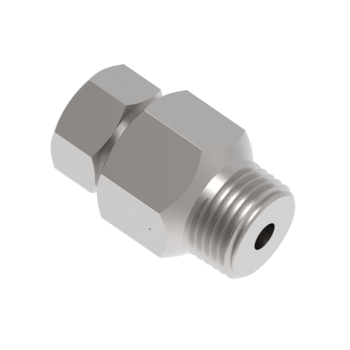 HPMC10K-9H-12N-S316 Male Connectors Hp Tube To Pipe High Pressure