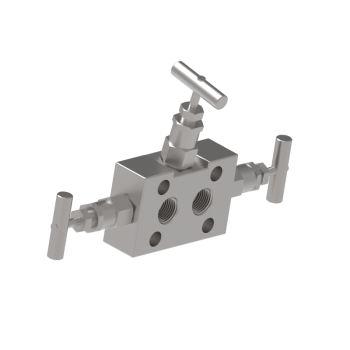 M3VDM 3 Valves Single Block Flange