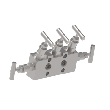 M5VDMA 5 Valves Single Block Flange A Style