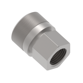 QF1CF-6N Qf Series Female Pipe Thread Body Connector Fittings