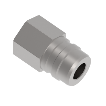 QF2NF-8G Qf Series Female Pipe Thread Stem Connector Fittings