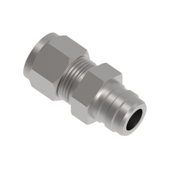 QF1NH-4T Qf Series Tube Stem Connector Fittings