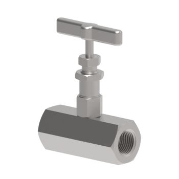 SVH2SW-4P-S316 Svh2 Series High Pressure Bar Stock Needle Valves For 6000Psig Straight Pattren