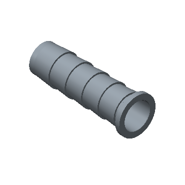 CI12M-8M-BRAS Tube Insert For Nylon Or Soft Plastic Tubing