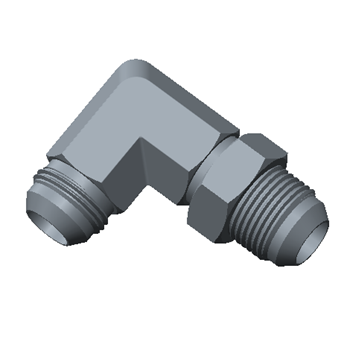 FBL-16T-S316 37 Jic Bulkhead Union Elbow