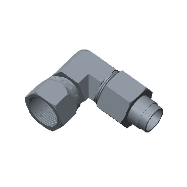 FSL-4T-STEL 37 Jic Swivel Elbow