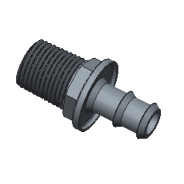 H-POMA8-8N-S316 Male Adapter