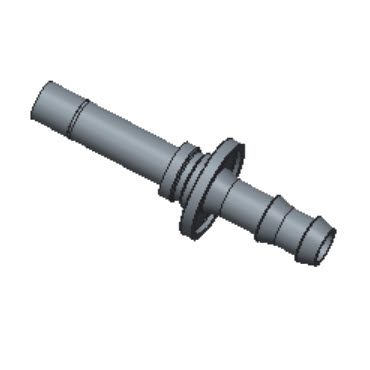 H-POTA4-6M-BRAS Tube Adapter