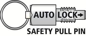 ALP-500 Auto-Lock Saftey Pin
