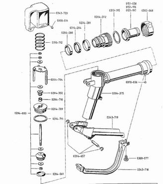 Wanner Grease Gun Parts