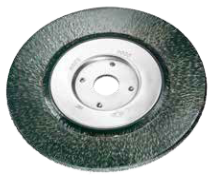 Encapsulated Wire Wheel Brush