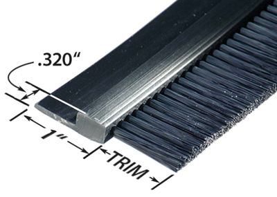 FPVC152036 Flexible And Rigid Strip Brush
