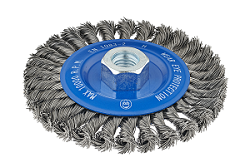 Twisted Knot Wheel Brushes